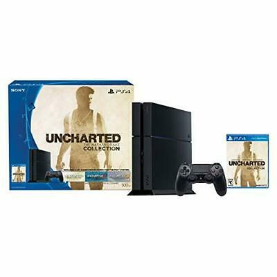 Sony PlayStation 4 500GB PS4 Fat Console Uncharted: The Nathan Drake 9Z