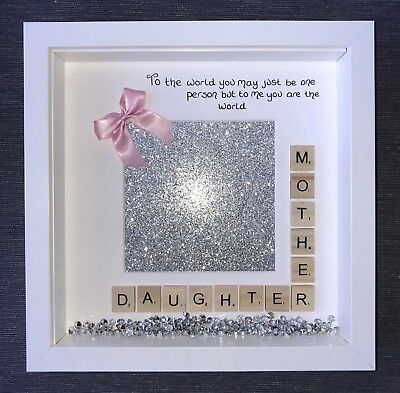 Mother Daughter Handmade Photo Frame