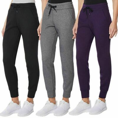 32 Degrees HEAT Women's Tech Fleece Performance Joggers