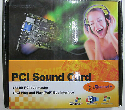 5.1 Channel MUL-106 32bit Plug and Play PCI Sound Card for Desktop Computer