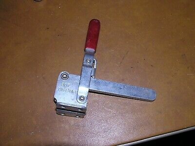 Model No 207  De-Sta-Co Vertical Solid Bar Hold Down Action Toggle Clamp