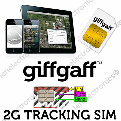 2G GSM Sim Card for GPS Tracking Device Bike Tracker Car Pet Elderly Smart Watch