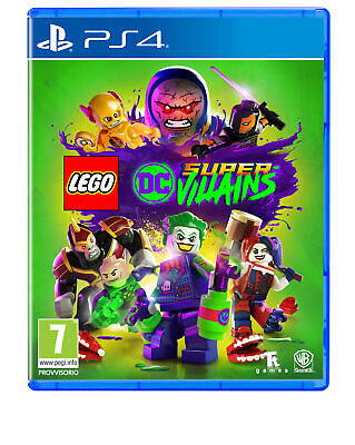 Sony PS4 LEGO DC Super Villains videogioco LEGO DC Super Villains, Playstation 4