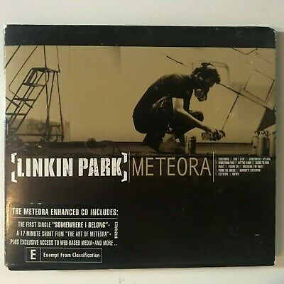 LINKIN PARK -METEORA CD + The Making Of Meteora DVD Album Limited