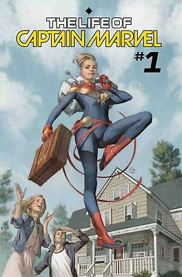 Life Of Captain Marvel #1 Marvel 2018 Cover A 1St Print