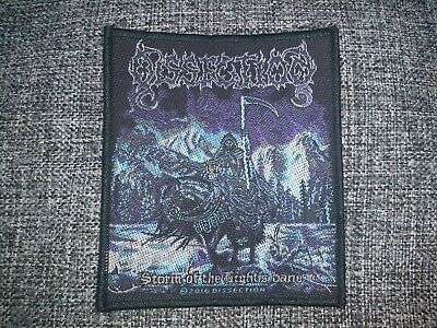 Dissection - Storm of the lights Bane Patch / Aufnäher Black Metal Kutte