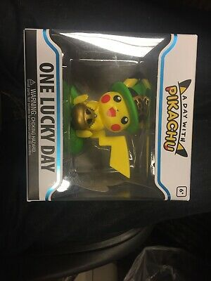 A Day WIth Pikachu One Lucky Day Funko Figure Pokemon Center Exclusive