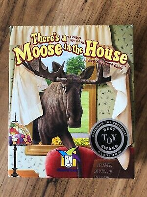 for 2-5 players age 8+ There/'s a Moose in the House Card Game by Gamewright