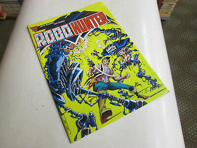 Robot Hunter 1.. Comics . Aredit 1985..Tbe