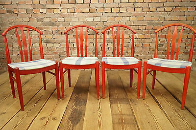 Swell 1960S Dining Room Chairs 4 X Mid Century Design Set Danish Andrewgaddart Wooden Chair Designs For Living Room Andrewgaddartcom