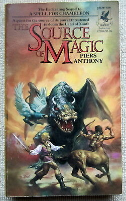 The Source of Magic (Xanth #2) by Piers Anthony PB 1st Del Rey