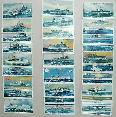 Cromos antiguos. Serie MODERN NAVAL CRAFT. Cigarette cards. Player 1939
