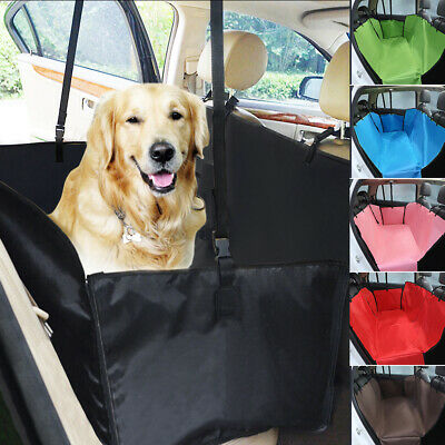 Car Rear Pet Dog Back Seat Cover Cat Auto Protector Waterproof Hammock Mat