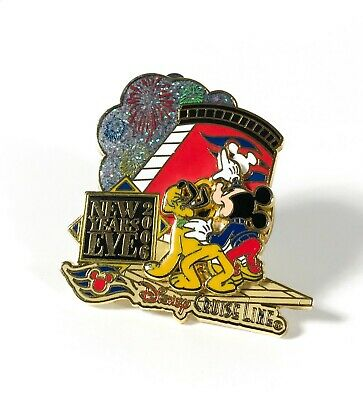 2006 Disney Cruise Line LE 500 New Year's Eve Trading Pin DCL Mickey Pluto Layer
