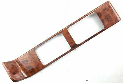 vent trim above glove box wood grain plastic 2 hole for Peterbilt 2001-2005