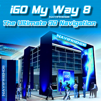 iGO 8 Navigation Software / SD Karte / neue Here® 2019 Maps - Premium Paket ✔