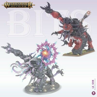 Bits Slaves To Darkness Slaughterbrute Mutalith Vortex Beast Warhammer Aos
