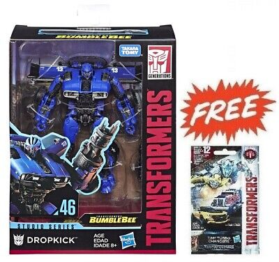 (P) Transformers Studio Series 46 Deluxe Bumblebee Movie Dropkick Figure