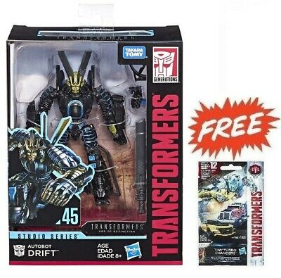 (P) Transformers Studio Series 45 Deluxe Age Of Extinction Movie Autobot Drift
