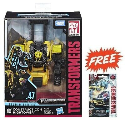 (P) Transformers Studio Series 47 Deluxe Hightower Figure + Tiny Turbo 01