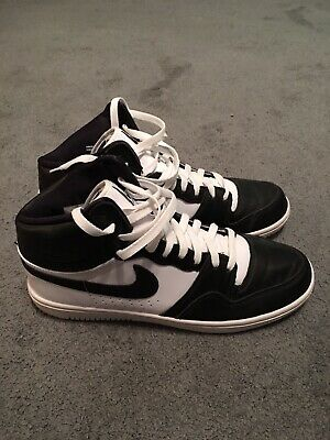 60d1eb49bd49 NIKE X UNDERCOVER Court Force Hi US 9.5 UK 8.5 Eu 43 Bamboo Grey ...