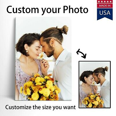 Custom Canvas Prints with Your Photos for Wedding, Personalized Wall Art Framed