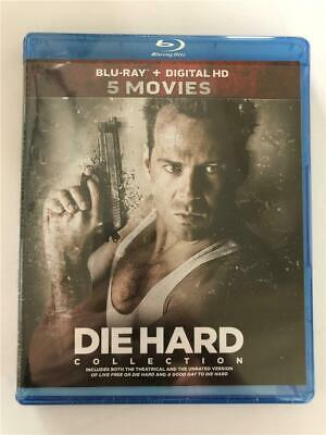 NEW Die Hard: 5-Movie Collection (Blu-ray Disc, 2017, 5-Disc Set)