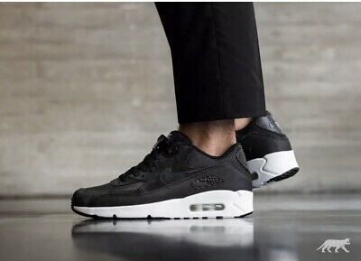Rare Nike Air Max 90 Ultra 2 0 Ltr Black Leather Running 924447 001