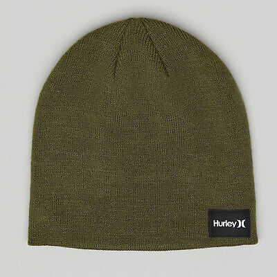 City Beach Hurley Iconic Beanie Hat