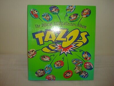 Official Tazo Collectors Album - Complete - 220 Tazos + folder & backing sheets