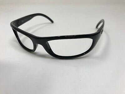 09c8f8fcacff Ray Ban Wrap Sunglass Frames ITALY RB4033-601 Black Sleek Frame Full Rim  TX42