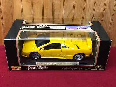 Maisto Special Edition Lamborghini Diablo Se Yellow 1 18 Detailed