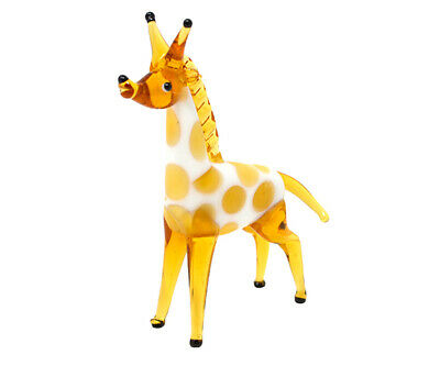 COLLECTIBLE BLOWN GLASS CREATURES AND ANIMALS - Giraffe - MA101