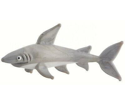 Collectible Blown Glass Creatures And Animals - Shark  - Ma096