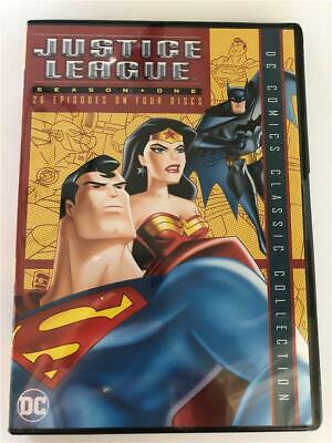 NEW DVD Justice League Season One 26 Episodes On Four Discs DC Classics