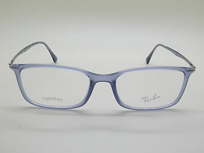 200a69e654 New Authentic Ray Ban RB 7031 5401 Matte Violet 53mm LightRay RX Eyeglasses