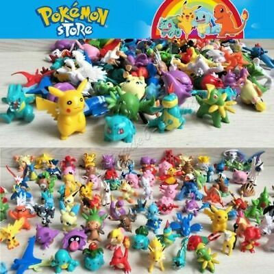 Pokemon Go Mini Action Figures Monster Kids Gift Toy Random 24 pcs✔