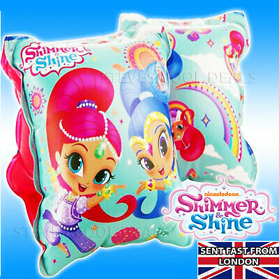 "Armbands Shimmer & Shine ""Genie Girls"" Inflatable Water wings Pink Nickelodeon"