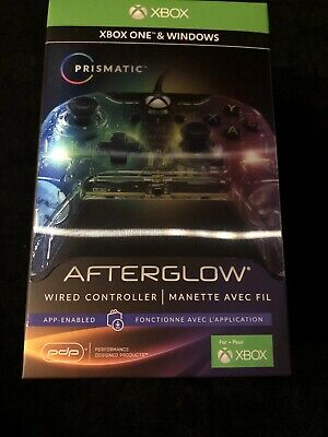 PDP Afterglow Prismatic Wired Controller for Xbox One Colour Changing NEW SEALED