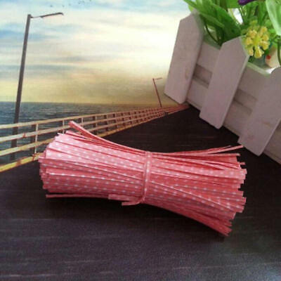 Wholesale Chic Twist Ties for Candy Lollipop Cake Pop Bag Party 100Pcs Well