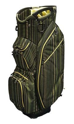 153055093ef Ouul Superlite Cart Golf Bag - Black yellow green- New In Box