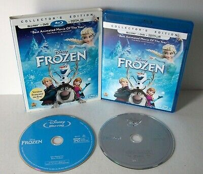Disney Frozen Blu-ray & DVD Collector's Edition w/ Slipcover No Code Kids 2004