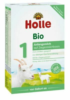 20 x Holle Organic - Stage 1 - Goat Milk 400 g Infant Baby Formula from Germany
