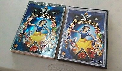 Snow White and the Seven Dwarfs: Diamond Edition 3-Disc Set (Blu-Ray/DVD, 2009)