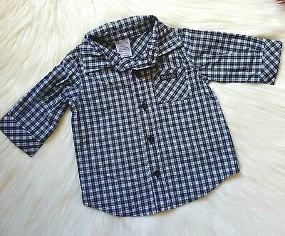 MAX AND TILLY - Size 000 checked shirt