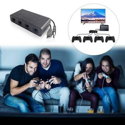 4 Port Gamecube NGC Controller Adapter For Nintendo Wii U Switch and PC USB