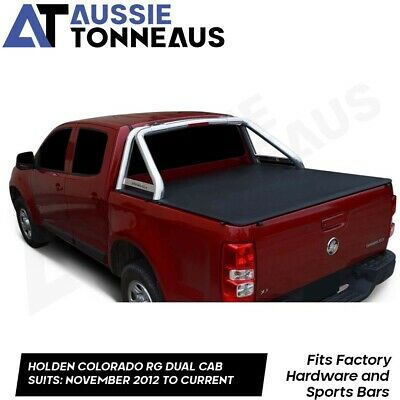Holden Colorado RG Dual Cab Replacement Tonneau Cover Only - 2012- Current