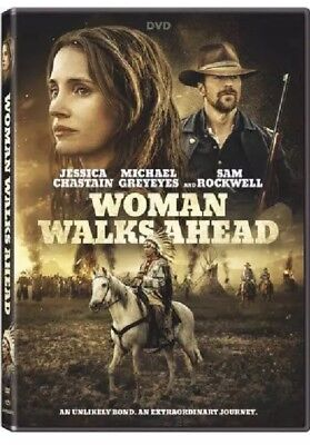 Woman Walks Ahead 2018 Jessica Chastain Sam Rockwell DVD Format English Rated R