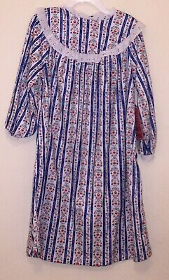d3a9732bc LANZ OF SALZBURG Toddler Girl s TYROLEAN Design NightGowns Blue 3T ...