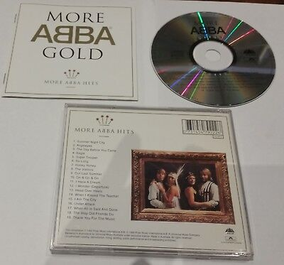 MORE ABBA GOLD CD Best Of (Greatest Hits Part 2)